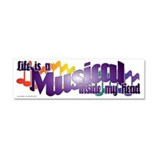 Life is a Musical Car Magnet 10 x 3
