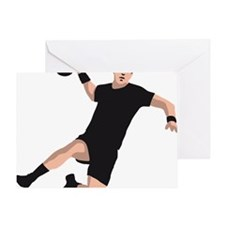 handball player Greeting Card