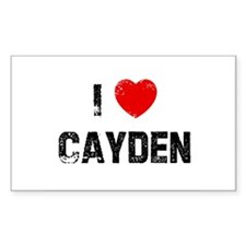 I * Cayden Rectangle Decal