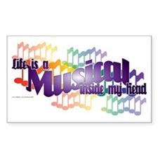 Life is a Musical II Decal