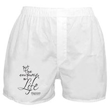 Life quote 2 Boxer Shorts