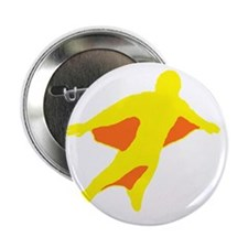 "Wingsuit Silhouette 2 Yellow 2.25"" Button"