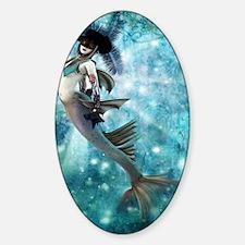 Carnival Mermaid Decal