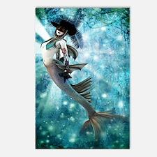 Carnival Mermaid Postcards (Package of 8)