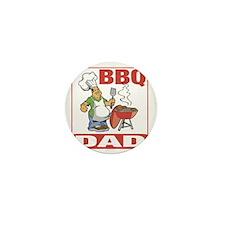 BBQ Dad Mini Button