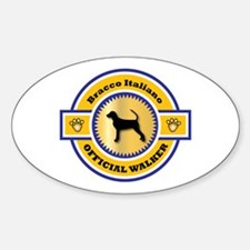 Bracco Walker Oval Decal