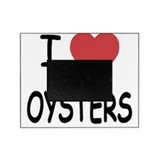 I heart oysters Picture Frame