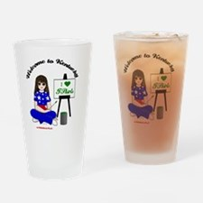 I-Heart-T-Shirts Drinking Glass