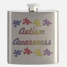 Autism Awareness Flask