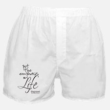 Life quote Boxer Shorts