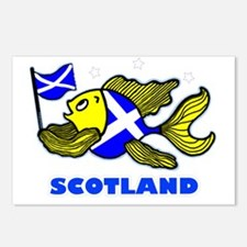Scotland Fish, Fabspark Postcards (Package of 8)
