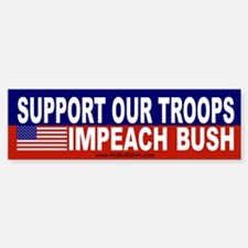 Support our troops impeach Bush