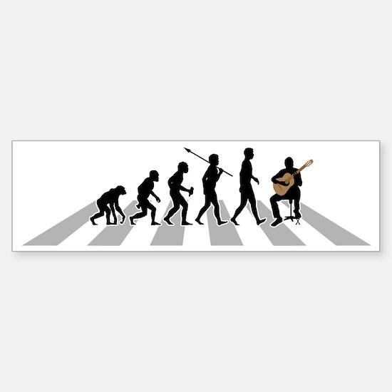 Classical-Guitar-B Sticker (Bumper)