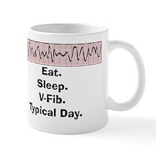 Funny V-Fib T-Shirts Mug