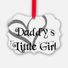 daddys little girl Ornament