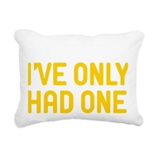 In Dog Beers Ive Only Ha Rectangular Canvas Pillow