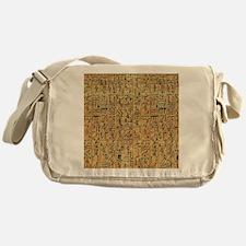 walllclock_large Messenger Bag