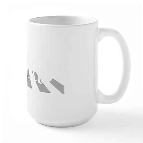 Double-Bass-Player-A Large Mug