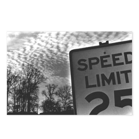 Speed Limit Postcards (Package of 8)
