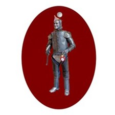 Funny Christmas wizard of oz Ornament (Oval)