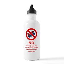 Anti-Rewards Card Water Bottle