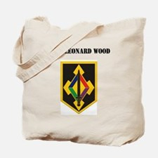 Fort Leonard Wood with Text Tote Bag