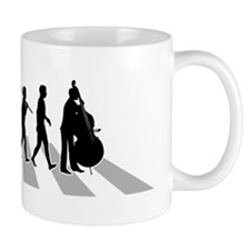 Double-Bass-Player-B Mug