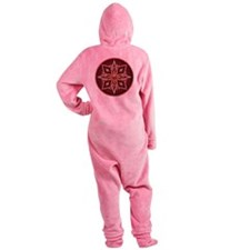 Native American Rosette 14 Footed Pajamas