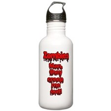 Zombies, Man they cree Water Bottle