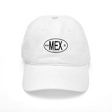 Mexico Euro-style Country Code Baseball Cap