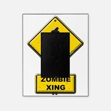 Zombie Crossing sign Picture Frame