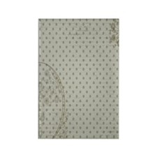 Distressed Grunge Kindle Rectangle Magnet