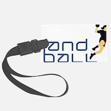 female handball player Luggage Tag