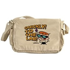 Quickly To The Lab! Messenger Bag