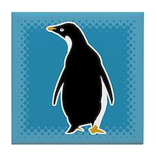Proud Penguin Tile Coaster