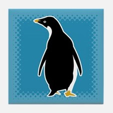 Proud Penguin Tile Coaster