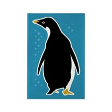 Proud Penguin Rectangle Magnet
