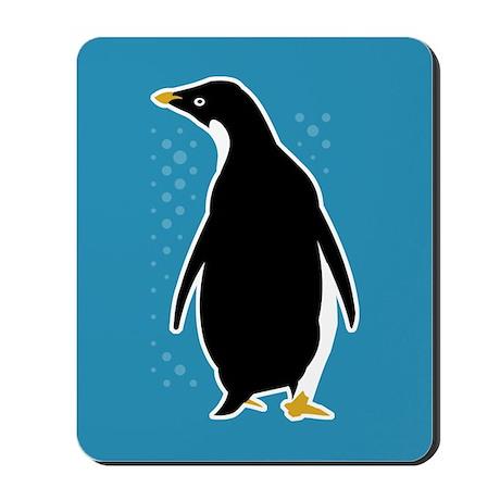 Proud Penguin Mousepad
