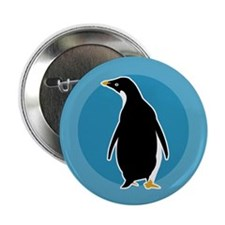 Proud Penguin Button