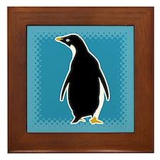Proud Penguin Framed Tile