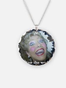 Saving The World (white) Necklace