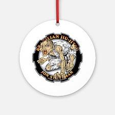Jon Stutzman Gear Logo Round Ornament