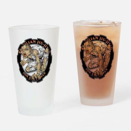 Jon Stutzman Gear Logo Drinking Glass