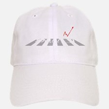 The Evolution of Man - Baseball Baseball Cap