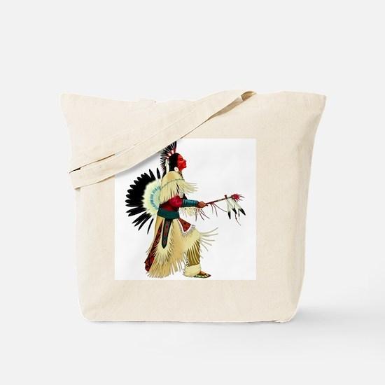 Dancing Indian Tote Bag