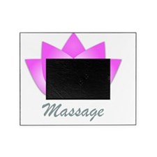Massage Lotus Flower Picture Frame