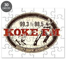 KOKE FM logo Puzzle