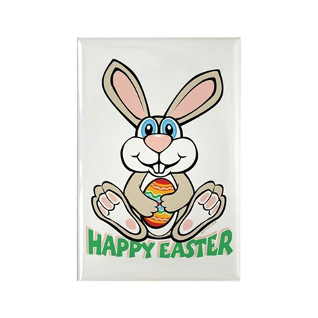 Happy Easter Rectangle Magnet (100 pack)