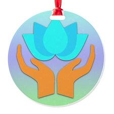 Lotus Flower - Healing Hands Ornament