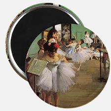 Edgar Degas Dancing Class Magnet